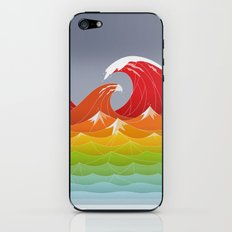 Beaufort Scale iPhone & iPod Skin