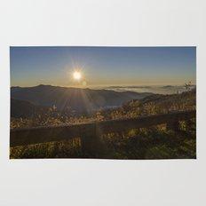 Sunrise on the Blue Ridge  Rug