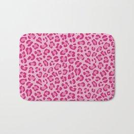 Leopard - Lilac and Pink Bath Mat
