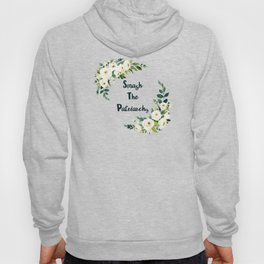 Smash The Patriarchy - A Beautiful Floral Print Hoody