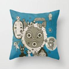 My Sweet Friends Throw Pillow