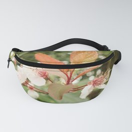 Detail of a flower Fanny Pack