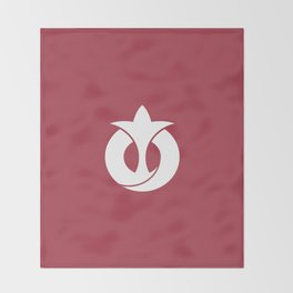Flag of Aichi Throw Blanket
