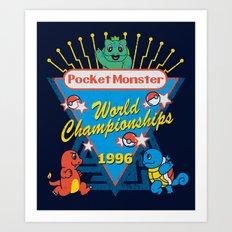 World Championship Art Print
