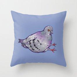 Pigeon! Throw Pillow