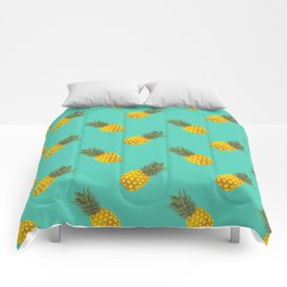 A pattern of pineapple Comforters