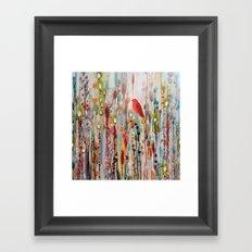 la vie comme un passage Framed Art Print