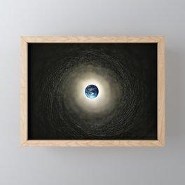 Earth Framed Mini Art Print