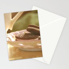 tea + cookies Stationery Cards