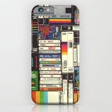 Cassettes, VHS & Atari iPhone 6 Slim Case