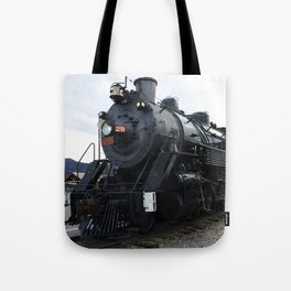 Vintage Railroad Steam Train Tote Bag
