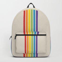 Rainbow Stripes Backpack