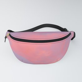 Cotton candy clouds in my dreams Fanny Pack