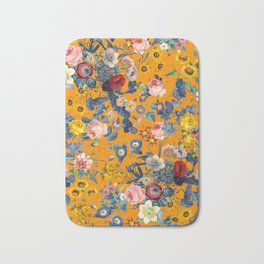 Summer Botanical Garden IX Bath Mat