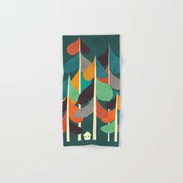 Cabin in the woods Hand & Bath Towel