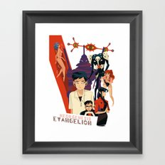 Evangelion Framed Art Print