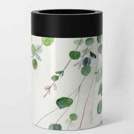 Eucalyptus Watercolor Can Cooler