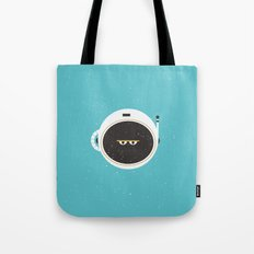 The Spaceman on Earth Tote Bag