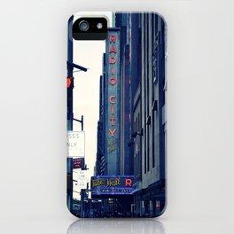 Radio City iPhone Case