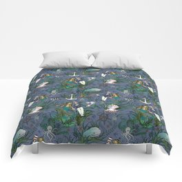 The Siren and the Sailor (La Sirène et le Marin) Comforters