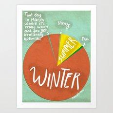 Irrational Optimism Art Print