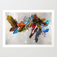 Bits of Mother Earth Art Print