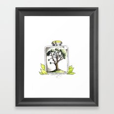 Nature on Display Framed Art Print