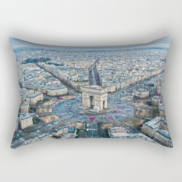 Arc de Triomphe Paris City Rectangular Pillow