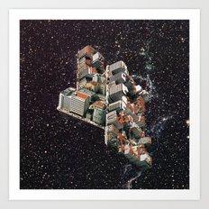 Space waste Art Print