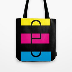E like E Tote Bag