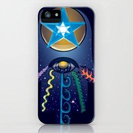 The Elemental Hamsa iPhone Case