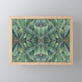Circles in Nature Framed Mini Art Print