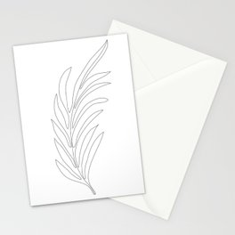 Minimal Palm Leaf Stationery Cards