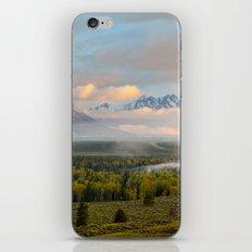 Grand Teton Morning iPhone & iPod Skin
