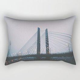 Tilikum Crossing Rectangular Pillow