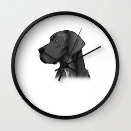 German Mastiff Dog Gift Idea Wall Clock