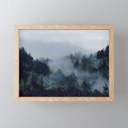 End in fire Framed Mini Art Print