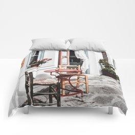 Amorgos Greece Comforters