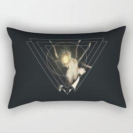 Deer Triangle  Rectangular Pillow
