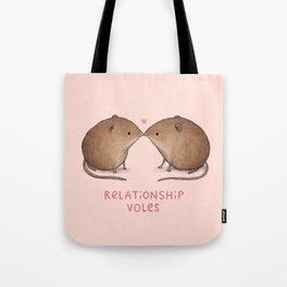 Relationship Voles Tote Bag