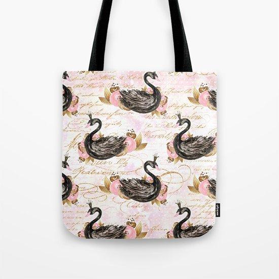 Black Swans ballerina #2 Tote Bag