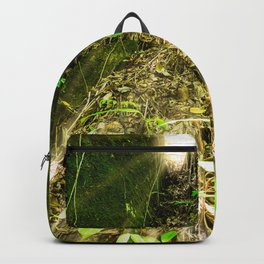 green grass in the forest Backpack