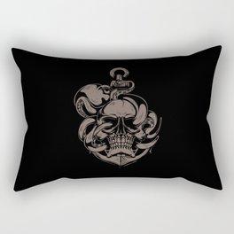 Skull And Octopus | Heavy Metal Rectangular Pillow