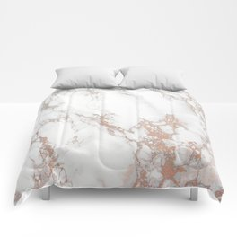 Rosey Marble Comforters