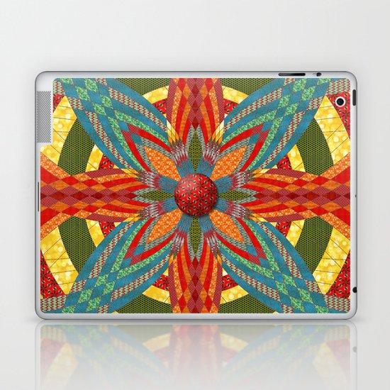 Thistle Pattern Laptop & iPad Skin