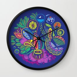 Nature is not on the internet Wall Clock