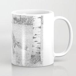 Mousing around - red fox Coffee Mug