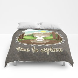 Time to explore Comforters