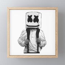 Marshmello - Alone Framed Mini Art Print