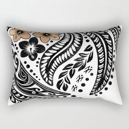 Polynesian Tribal Rectangular Pillow